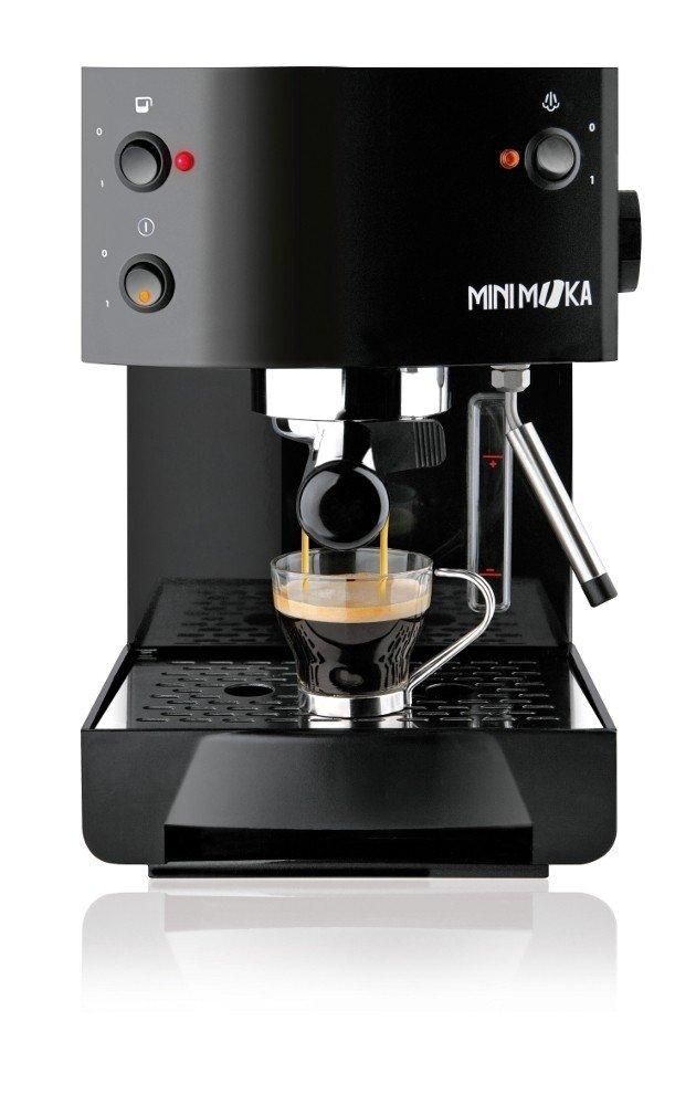 Moka - Cafetera Espresso 999305, Cm0367Ng, Manual,18 Bares, Deposito Agua 2L, Apta Monodosis, Tubo Vapor, Calienta Tazas. Negro.: Amazon.es: Hogar