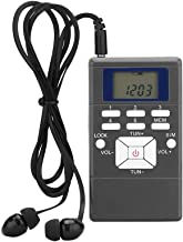 FM Pocket Radio, ALLOMN Portable FM Transistor Radio Digital Tuning Stereo Radio with..