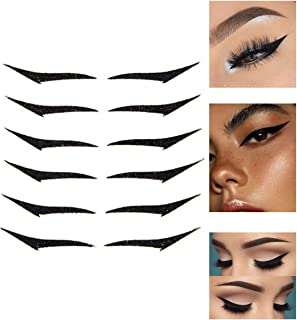 6 Pairs Reusable Adhesive Eyeliner Stickers - Reusable...