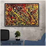 Generic Painting Canvas New Jackson Pollock Abstract Poster