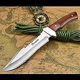 ナイフ アウトドアシースナイフ NedFoss 鞘付き フルタング構造 アウトドア用ナイフ フィッシングナイフ5.5mm厚ブレード 釣りナイフ サバイバルナイフ 狩猟用ナイフ