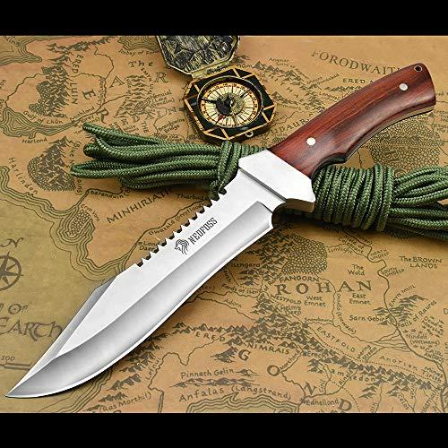 NedFoss Fahrtenmesser Rambo Messer| Survival Messer...