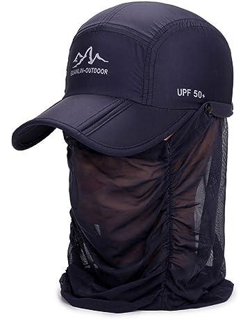 a219b5723edb2b Fintier 男女兼用 折り畳み 日よけキャップ 360度UVカット紫外線対策 通気性