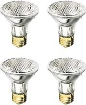 Xtricity PAR20 Halogen Flood Light 50 Watt, Dimmable, 700 Lumens, E26 Medium Base, 120 Volt, 2,700K – Soft White (Pack of 4)