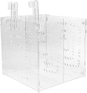 SALUTUYA Hochdurchlässige Inkubationsbox für Aquarien für verletzte, kranke Fische(20MC *20CM*20CM)
