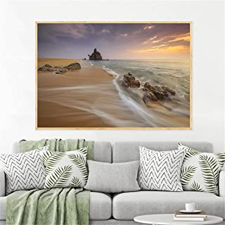 Canvas Prints,Beach Home Decor Wall Art Pictures Sunset Landscape Waterfront Nature Canvas Painting Posters And Prints 30...