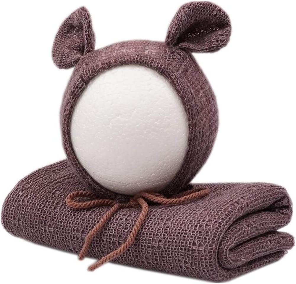 Newborn Photography Props A surprise price is realized Wrap Blanket with Bear Boys Milwaukee Mall G Baby Hat