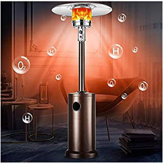 Freestanding Infrared Heater with Height Adjustable,Remote Control for for Patio,Lawn,home and Garden Kismile Outdoor//Indoor Electric Patio Heater