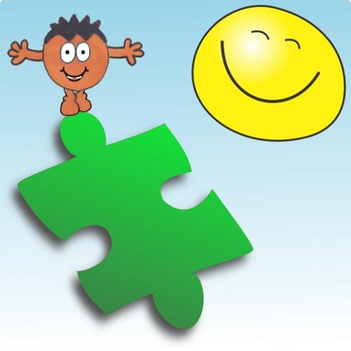 Puzzle con Mops un puzzle de dibujos para los niños