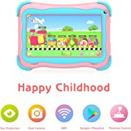 Kids Tablet 7 Android Kids Tablets for Kids Edition Tablet PC Android Quad Core Toddler Tablet...