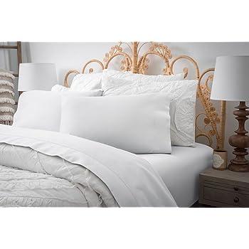Magnolia Organics Estate Collection Sheet Set - King, White