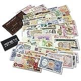 IMPACTO COLECCIONABLES Billetes del Mundo - 50 Auténticos Billetes Diferentes de más de 30 Países