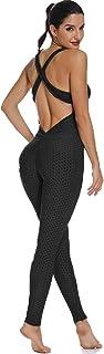 Mallas Pantalones Deportivos Leggings Mujer Yoga de Alta Cintura Elásticos y Transpirables para Yoga Running Fitness con Gran Elásticos