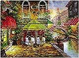 ZBYBGP Rompecabezas Rompecabezas de Madera para Adultos-Venecia,Rompecabezas Creativo de 1000 Piezas,Juegos educativos,decoración del hogar,Juguetes de descompresión