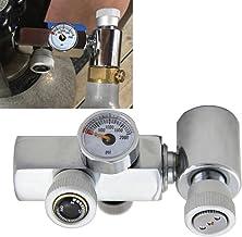 Mangobuy Cylindre de CO2 recharge connecteur adaptateur Laiton Homebrew Kit pour remplissage Soda Stream Réservoir