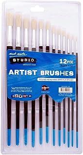 Mont Marte Studio Series Paint Brush Set - Round Sizes 1-12