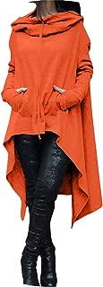 Hoodies Sweatshirt Women Loose Hoody Mantle Hooded Pullover Outwear Coat