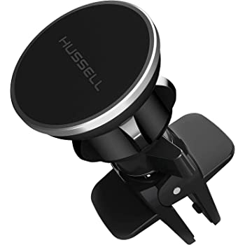 Magnetic Phone Car Mount,Air Vent Phone Mount for Carby HUSSELL - 360° Adjustable UniversalMagnet Phone Holder- Compatible with AnyCell Phone,iPhoneGalaxy LG Huawei