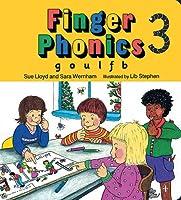 Finger Phonics Book 3, G, O, U, L, F, B,/Board Book (Jolly Phonics: Finger Phonics)