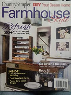 country sampler farmhouse style magazine spring 2019