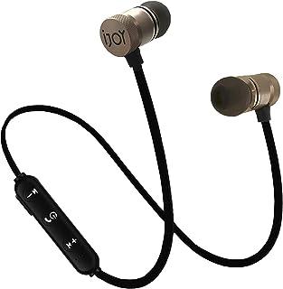 IJOY Bluetooth Wireless Sport Earbuds IPX4 Sweatproof Sport Headphones with Microphone, Noise Cancelling Earphones, Noise Cancelling Headset for Workout, Running, Gym