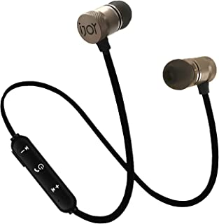 IJOY Bluetooth Wireless Sport Secure Headphones Earbuds, Bluetooth 5.0, Mic, Sweat-Proof, Noise Cancelling Earphones, Mic for Workout, Gym, Running