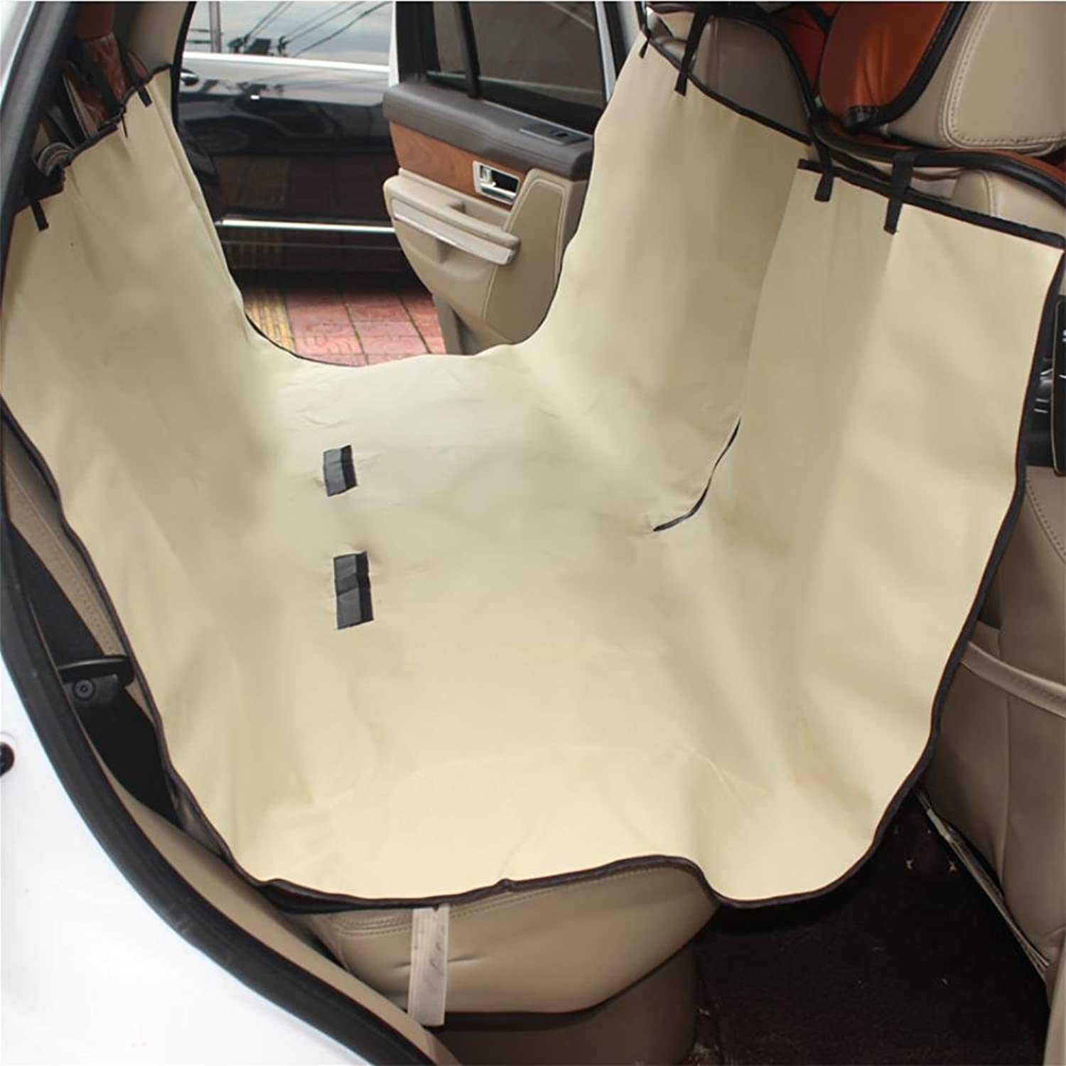 LPYDog Car Seat Cover Waterproof Pet Back Seat Cover Predector Rear Seat Travel Hammock with Seat