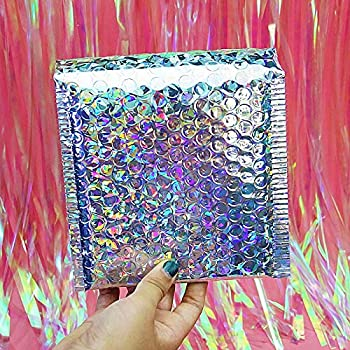 Lot de 10 Enveloppes /à bulles D//4 BLEUES format 180x260 mm