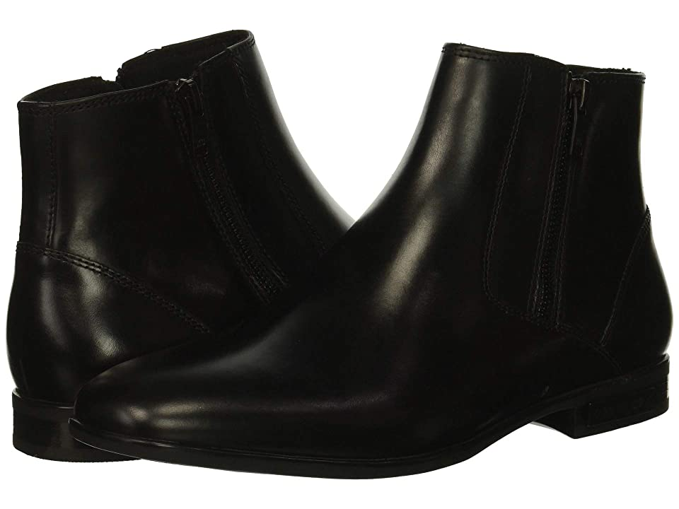 Kenneth Cole New York Aaron Zip Boot (Black) Men