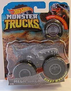 MEGA WREX T-REX Dinosaur W/ Collectible Wheel Monster Trucks DIECAST 2018 (Monster JAM Truck)