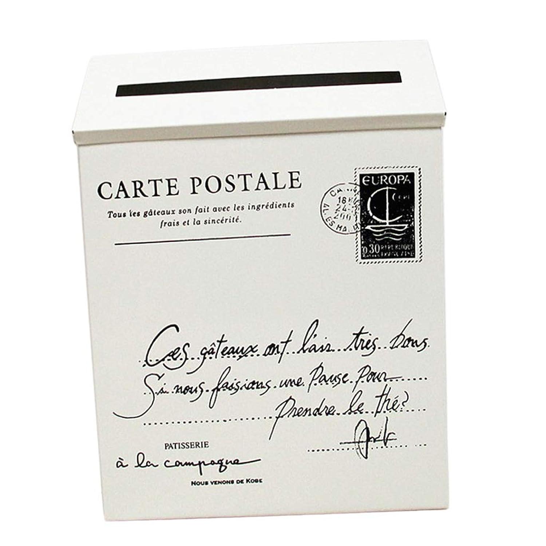 F Fityle メールボックス ポストボックス 新聞ホルダーボックス 高品質 多種選べる  - ベージュ