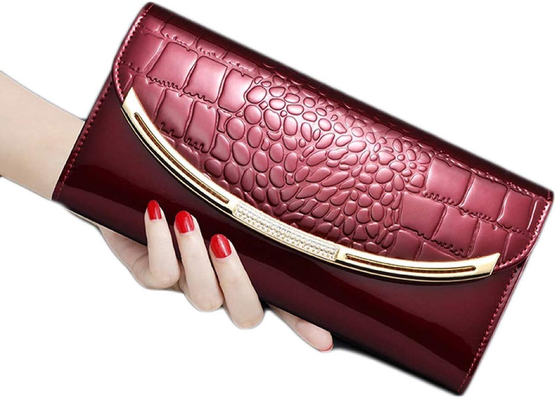 Quality Women's Wallet Long Fashion Multifunctional Clutch Bag Joker LargeCapacity Clutch Clutch Upgraded