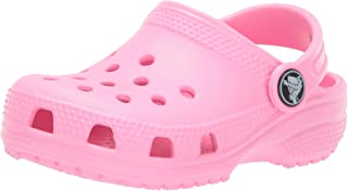 Crocs Kids' Classic Clog, Pink (Pink Lemonade 669), 8 UK Child 24/25 EU