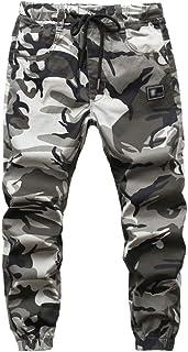 Lau's Pantalones Camuflaje niño - Pantalón de Jogging con Forro Polar - Slim fit