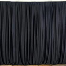 Backdrop for Weddings Partys Stage Studio Photography Head Shots Window Curtain Drapes, 100% Polyester, Professional Grade, Designer Quality, Single Panel, Hand Made In USA (58
