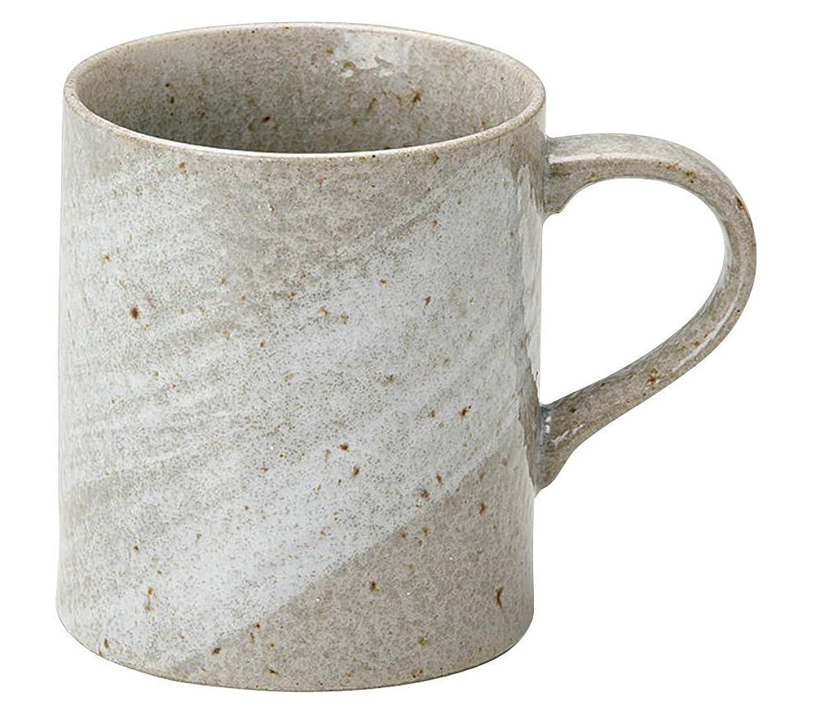 アジャクラック引き出し宗峰窯 マグカップ 青磁 土物 φ8×9.2cm(350cc) 758-17-433