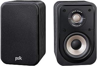 Polk Audio Signature S10E Surround Speakers, HiFi Speaker for Music and Home Cinema Sound, Uni-Pole Speaker, 20-100 Watt, ...