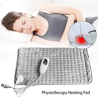Almohadilla calefactora de fisioterapia, alfombrilla de calentamiento eléctrica ajustable lavable, opciones de terapia de calor húmedo y seco para el alivio del dolor de cuello y hombro