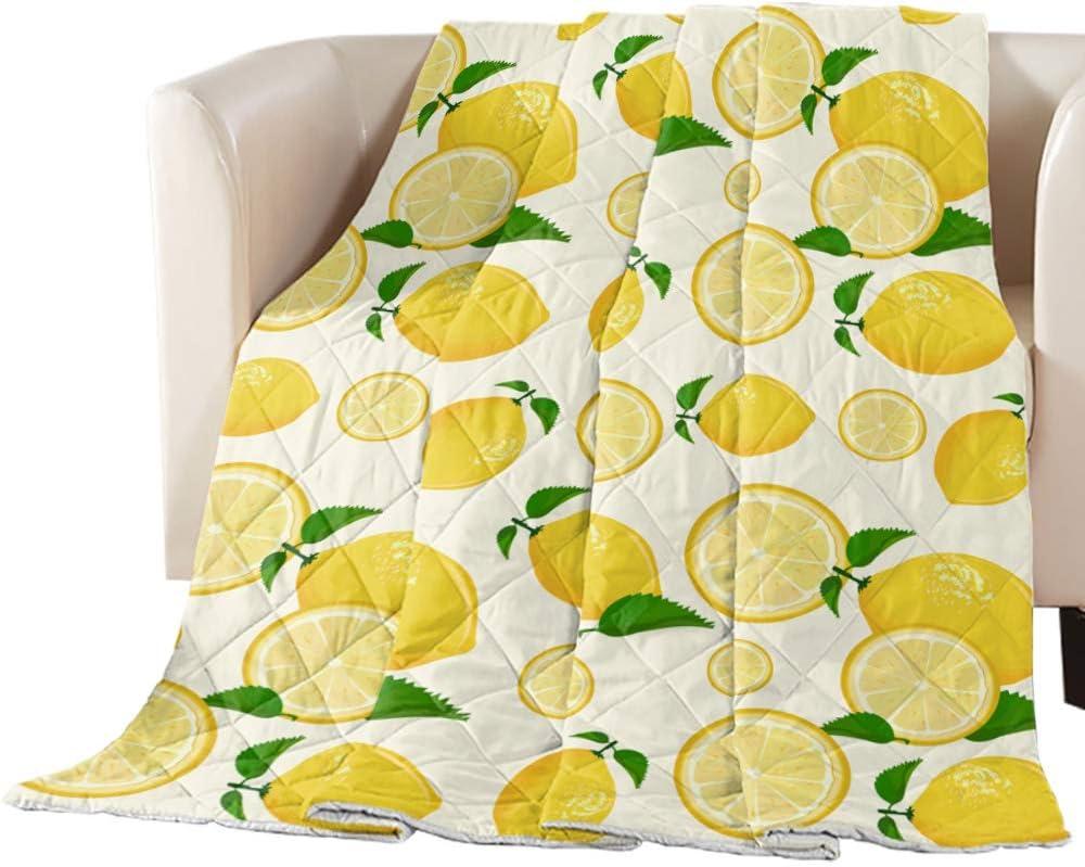 Comforter Same day shipping Popular Duvet Insert Home Quilt Summer Fresh Yellow Style Lemo