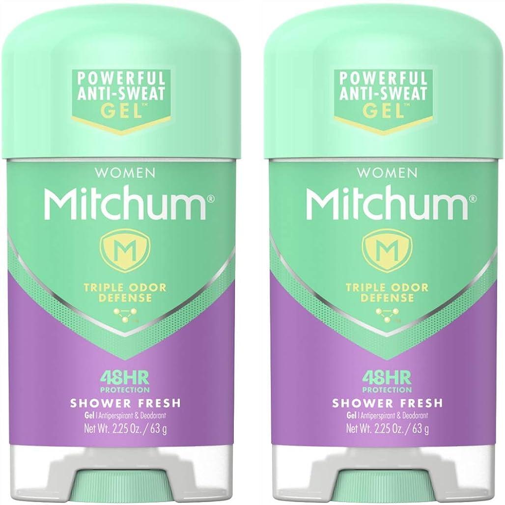 舌ボット行進Mitchum Power Gel Shower Fresh
