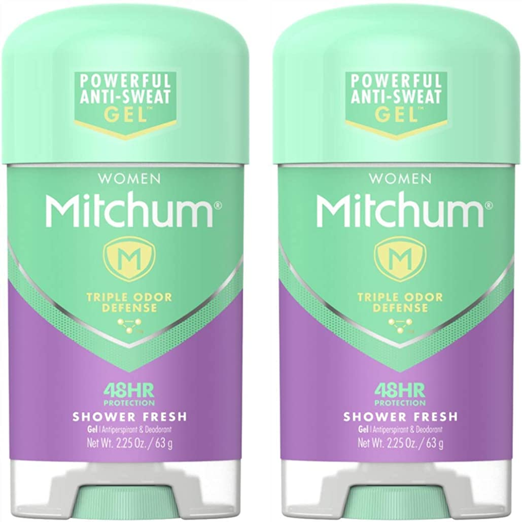 体操選手援助びっくりしたMitchum Power Gel Shower Fresh