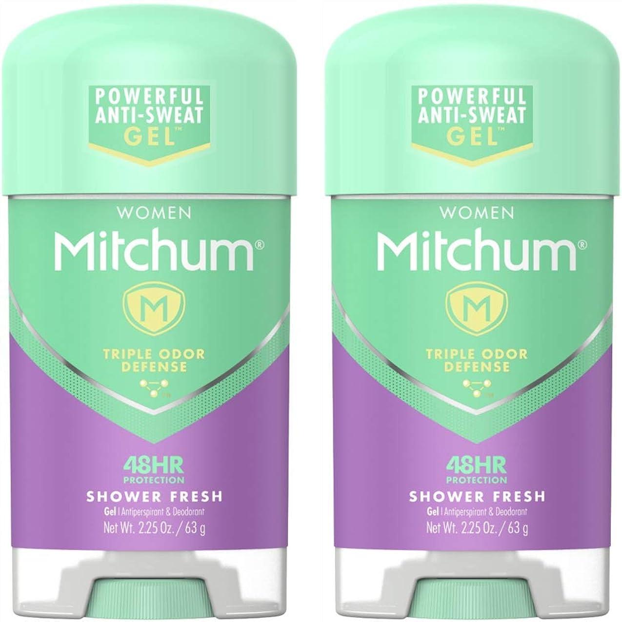 所属安らぎ指紋Mitchum Power Gel Shower Fresh