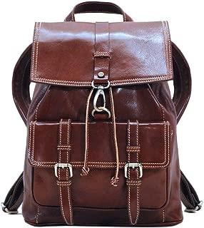 Trastevere Leather Backpack Knapsack Satchel Bag