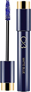 CVB MS401 Matte Blue Mascara Long Lasting WaterProof for Instant Volume & Glossy Looks, Lash Curler for Instant Volume (10ml)