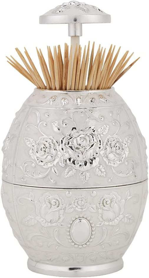 Metal Zinc Alloy Toothpick Brand new Holder Hand Pattern Toot Flower Press At the price