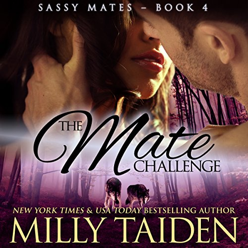 The Mate Challenge: BBW Paranormal Shape Shifter Romance audiobook cover art