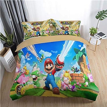 Edredon De Mario Bros.Amazon Es Mario Bros Edredones Y Fundas Para Edredon Ropa De