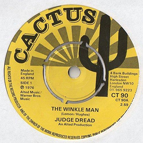 WINKLE MAN 7 INCH (7' VINYL 45) UK CACTUS 1976