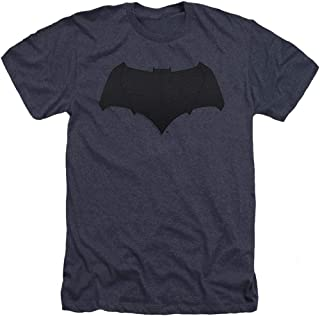 Popfunk Batman v Superman Movie Batman Uniform Logo Heather T Shirt