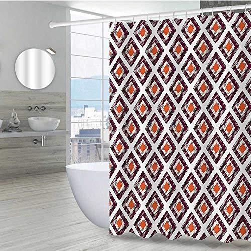 Geometric Cute Shower Curtain 54